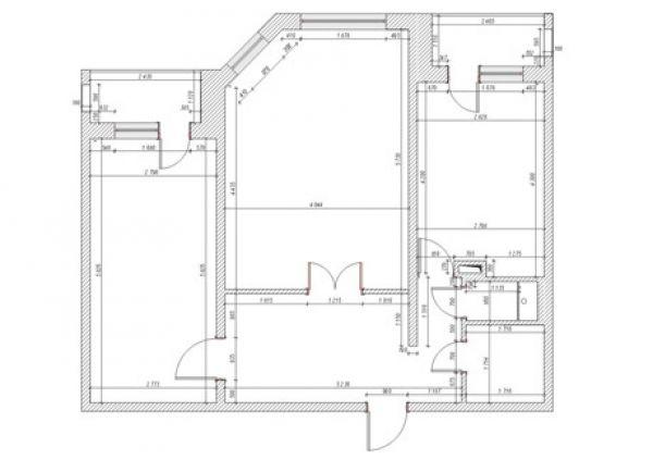 Обмерный план квартиры — это